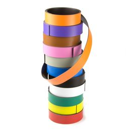 Farbiges Magnetband 20 mm zum selber Beschriften und Zuschneiden, Rollen à 1 m