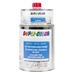 Whiteboard paint L 1litre for an area of 6 m², white or transparent, not magnetic!