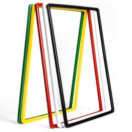 Cornice per poster A3 in plastica, con spigoli arrotondati, busta a U inclusa