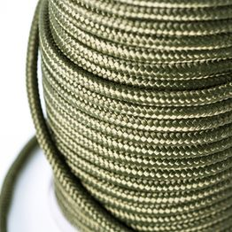Cuerda de polipropileno 9 mm x 60 m para pesca magnética, oliva, ¡no es una cuerda de escalada!