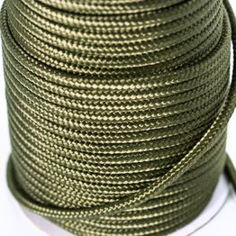 Polypropylene rope 7 mm x 60 m for magnet fishing, olive, not a climbing rope!