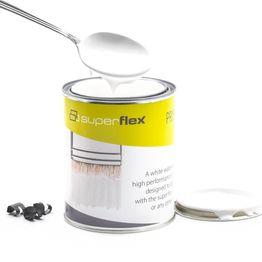 Primer superflex ideale per prodotti superflex, bianco, 750 ml, per una superficie di ca. 6 m²