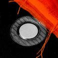 Magneti da cucire 18 x 2mm, con guaina rotonda in PVC