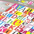 Lettere & numeri magnetici, per comunicazioni, domande & altro, più di 200 elementi