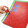 Per lavagne bianche & lavagne per la progettazione, 25 simboli per foglio A4, in diversi colori
