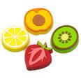 Magneti decorativi a forma di frutti, set da 4