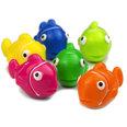 Magneti decorativi a forma di pesci, set da 6