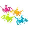 Magneti decorativi a forma di farfalle, set da 4