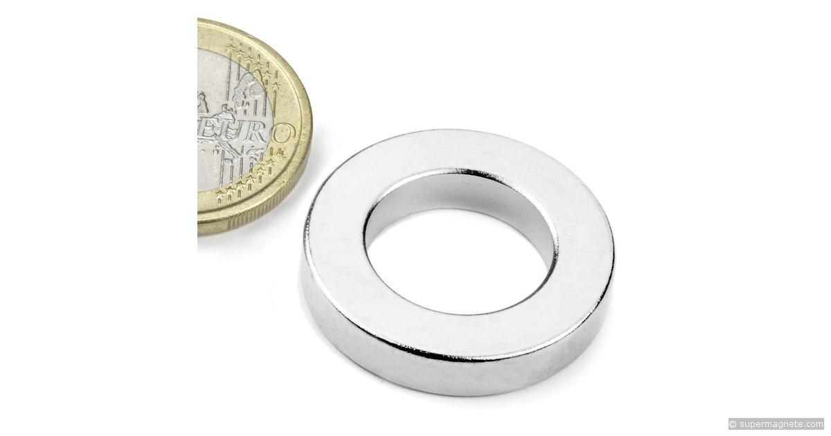 ringmagnete magnetringe magnete mit loch 26 75 x 16 x 5 mm. Black Bedroom Furniture Sets. Home Design Ideas