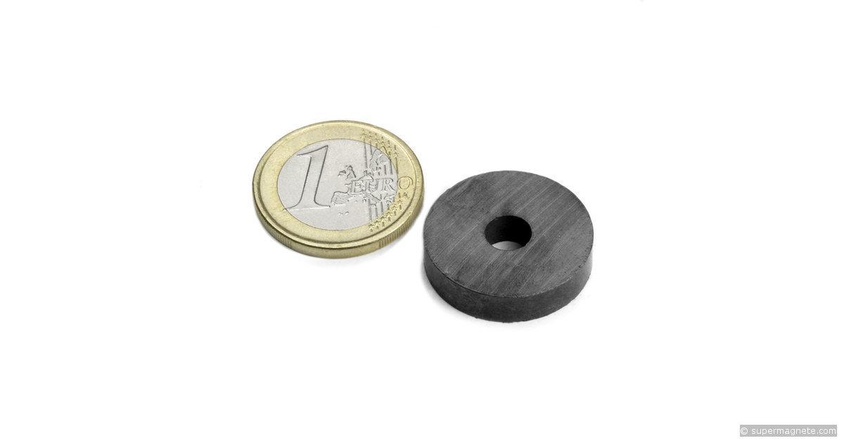 ringmagnete magnetringe magnete mit loch 22 x 6 x 5 mm fe r 22 06 05. Black Bedroom Furniture Sets. Home Design Ideas