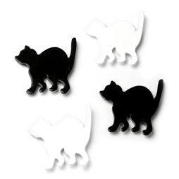 LIV-69, Kitty, Katzen-Kühlschrankmagnete, 4er-Set