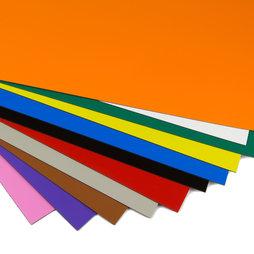 MS-A4, Foglio magnetico colorato, per etichettare e per il fai-da-te, formato A4
