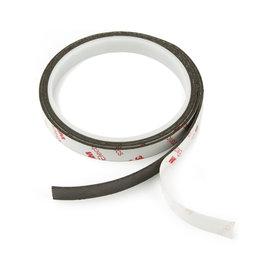NMT-10-STIC/01m, Nastro magnetico adesivo neodimio 10 mm, nastro magnetico autoadesivo, forza di attrazione superpotente, rotolo da 1 m