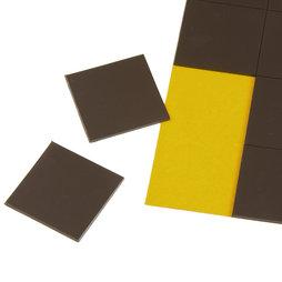 MS-TAKKI-02, Takkis 30 x 30 mm, piastrine magnetiche autoadesive, 20 piastrine per foglio