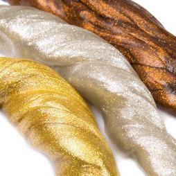 M-PUTTY-METALLIC, Pasta intelligente Metallic, con riflessi metallici, diversi colori, non magnetica!