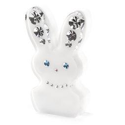 LIV-93, Diamond Rabbit, calamita da frigo coniglio, con cristalli Swarovski