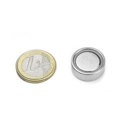 FGN-20, Aimant en pot à coller, Ø 20 mm
