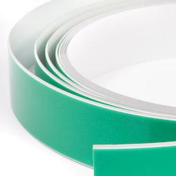 M-FERROTAPE, Nastro metallico autoadesivo bianco, supporto autoadesivo per magneti, larghezza 35 mm