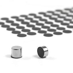M-SIL-12, Dischi di silicone Ø 12 mm, autoadesivi, 98 pezzi per set