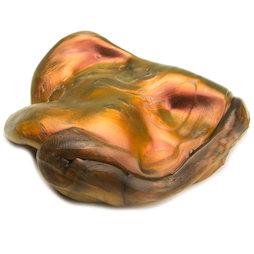 M-PUTTY-IRIS/lava, Pasta intelligente 'Super-Lava', tipo 'Flip-Flop', arancione-oro-nero