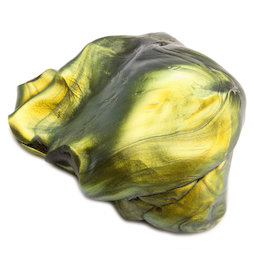 M-PUTTY-IRIS/oil, Pasta intelligente 'Super-Macchia d'olio', tipo 'Flip-Flop', verde-oro-nero
