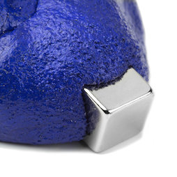 M-PUTTY-FERRO/blue, Thinking Putty magnetic, ferromagnetic putty, blue, magnet not included