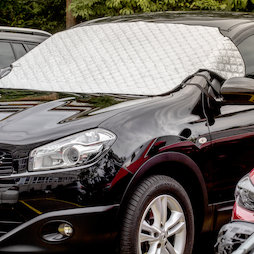 M-89, Windscreen protection foil 2 in 1, sun & frost protection all in one, for magnetic attachment on the car
