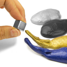 M-PUTTY-FERRO, Pasta intelligente magnetica, pasta modellabile ferromagnetica, diversi colori, consegna senza magnete