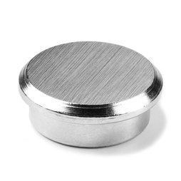 PBM-25, Steel 25, magnete per l'ufficio al neodimio in acciaio, Ø 25 mm