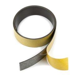 MT-30-STIC, Nastro magnetico adesivo ferrite 30 mm, nastro magnetico autoadesivo, rotoli da 1 m / 5 m / 25 m
