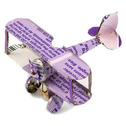 MCAR-01/plane, MadagasCAR, mini-veicoli da vecchi barattoli di latta, aereo