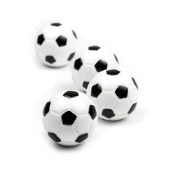 LIV-45, Kicker, Dekomagnete in Form eines Fußballes, 4er-Set