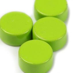 LIV-44/green, Steely, magneti al neodimio verdi, set da 10, 6 x 3 mm piccoli