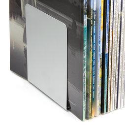 M-BOOK, Fermalibri magnetici, in metallo, set da 2, in diversi colori