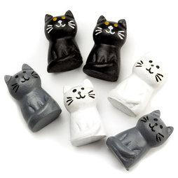 LIV-64, Katzen, starke Kühlschrankmagnete, 6er-Set