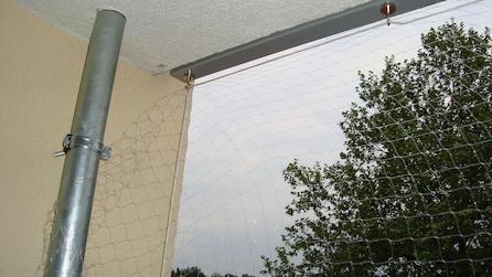 Applicazioni con i magneti rete per gatti senza modifiche strutturali - Rete per gatti giardino ...